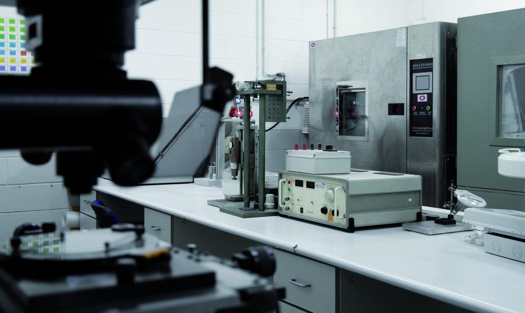 Laboratório de testes Famatel